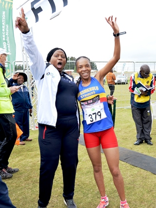 Mosiako and Mbhele win Nquthu race