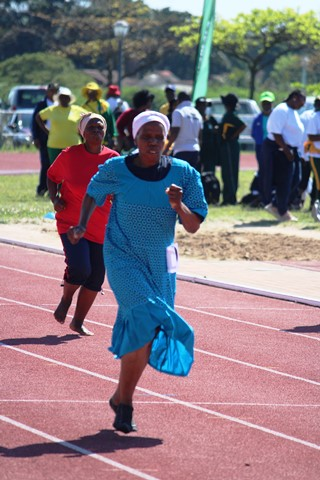 KZN senior citizens compete in Golden Games