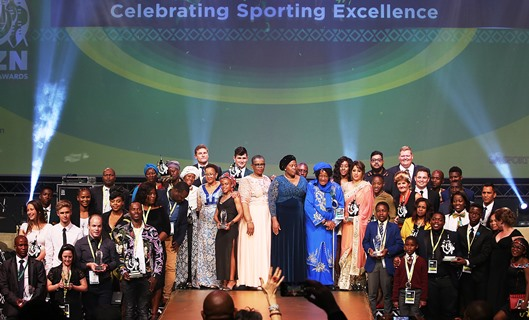 Sporting icons celebrated at the 2018 KZN Sport Awards