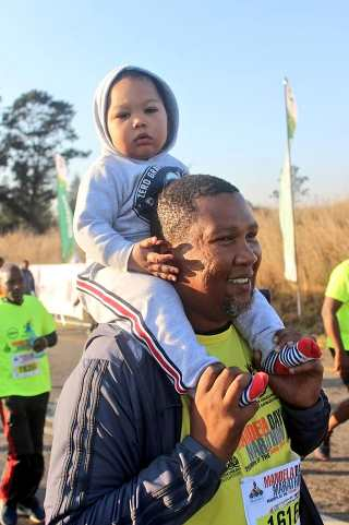 In his father's footsteps – Mandela Youth Run