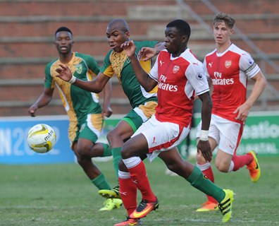 Arsenal and Sporting join SA in U19 semis