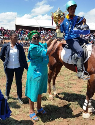 Harry Gwala rural horse riding contributes to rural economic growth