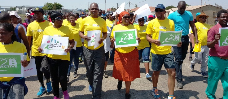 KZN citizens celebrate National Recreation Day in numbers